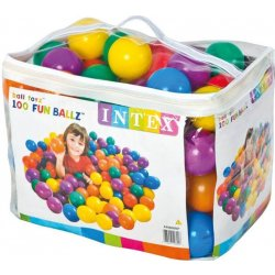 INTEX FUN BALLZ Míčky do bazénu 8 cm 100 ks