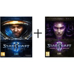 Star Craft II Wings of Liberty + StarCraft 2: Heart of the Swarm