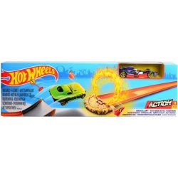 Mattel Hot Wheels Ohromný skok Daredevil Jump